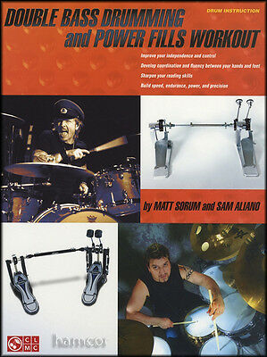 Double Bass Drumming and Power Fills Workout Drum Music Book
