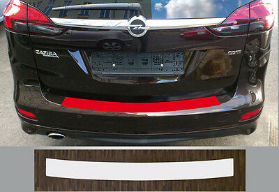clear protective foil bumper transparent Opel Zafira Tourer (from 2012)