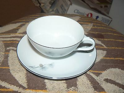 Fine China of Japan cup and saucer (Pine Song) 13 available