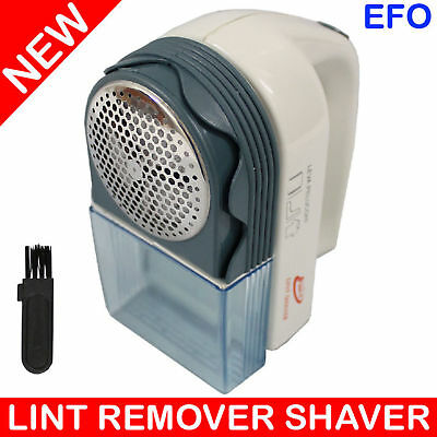 FEDERAL LINT REMOVER SHAVER w/ CLEANING BRUSH BATTERY POWERED LB-288