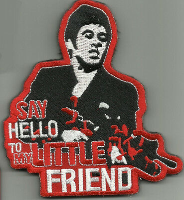 Say Hello To My Little Friend Combat Tactical Badge Morale Military Patch