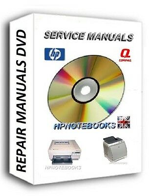 NEW HP 100 Printer Service repair Manuals ON CD / DVD LASER JET  LaserJet