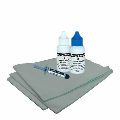 Arctic Silver 5 3.5 gram Thermal Paste with Arcticlean and SHL cloths Value Pack