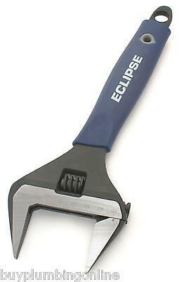 "Eclipse 10"" Adjustable Wrench Extra Wide Jaw 50mm ADJW10WJ"