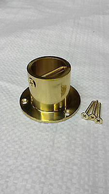 New decking rope cup ends to fit diameter 24,28,32,36 mm ropes in brass finish