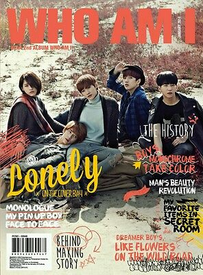 B1A4 2nd Album [Who am I] 'Lonely' Vol.2 :: CD+144p Photobook+Poster+Mini Photo