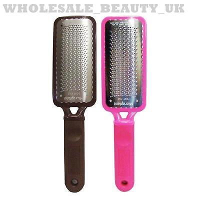 Microplane BROWN COLOSSAL Foot File Callus Remover/Reducer Pedicure Rasp + PINK