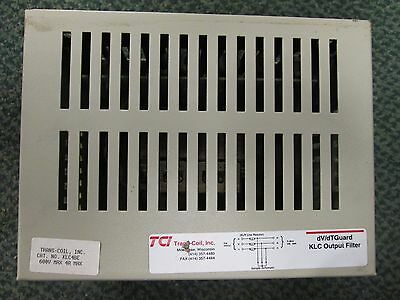 Trans-Coil Inc dV/dTGuard KLC4BE KLC Output Filter 4A 600V Used