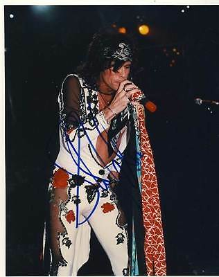 STEVE TYLER - Aerosmith - Classic Photo - Personally signed by Steve w/ COA