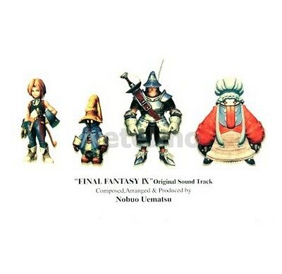 New 0079-82 Final Fantasy FF IX 9 Original Soundtrack 4 CD Music OST Anime