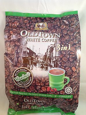 Old Town Instant White Coffee 3 in 1 Hazelnut 40G x 15 Sachets