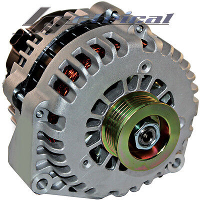 100% NEW HIGH OUTPUT ALTERNATOR Fits CHEVY CHEVROLET GMC CADILLAC HUMMER 200AMP