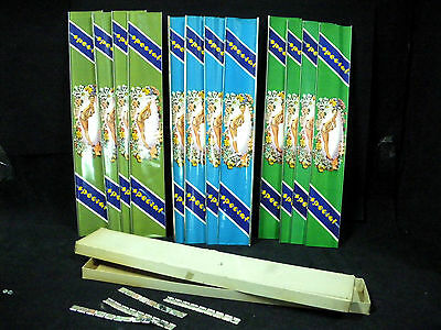 Lot of 12 Orizinal Vintage BICYCLE FRAME COVERS Pin-up Girls NOS 1950s