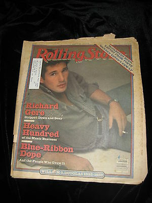 Rolling Stone Magazine-Richard Gere-Paul McCartney Pot Bust March 6, 1980 #312