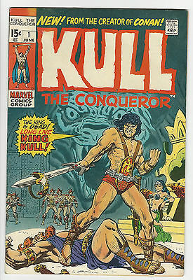 Kull the Conqueror #1 (Jun 1971, Marvel)
