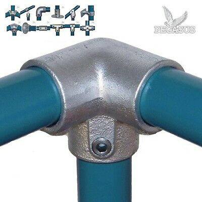Pipe Clamp System 27mm Fittings & Connectors (26.9mm) Tube Galvanised Allen Key