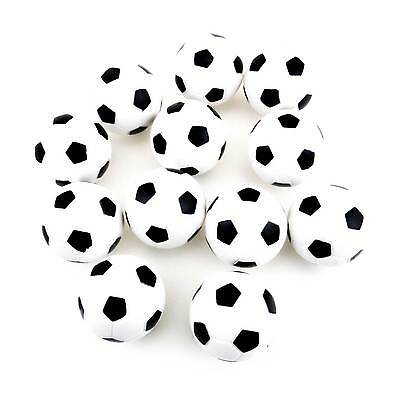 New 12 pcs 36mm Soccer Table Football Foosball Balls Wholesale lot of 12 Set USA