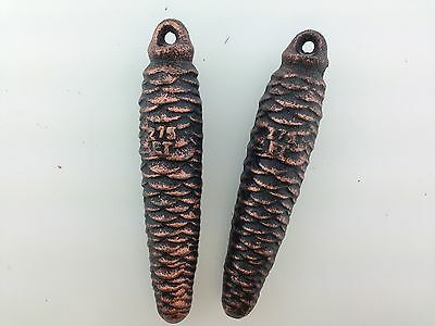 Cuckoo Clock Weights One Pair of German Black Forest  275 grams each