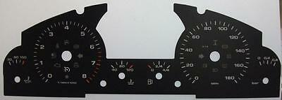 Lockwood Porsche Cayenne Mk1 2002-2010 RED Dial Conversion Kit 8077