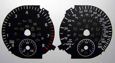 Lockwood VW Golf Mk6 GTi DSG BLACK Dial Conversion Kit C410