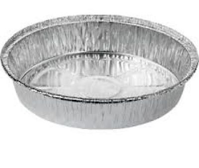 Round Foil Dishes 227mm x 43mm ***choose qty***