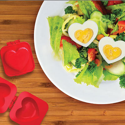 Heart Shaped Boiled Egg Maker Mould Gadget Eggspress Valentine Gift Idea