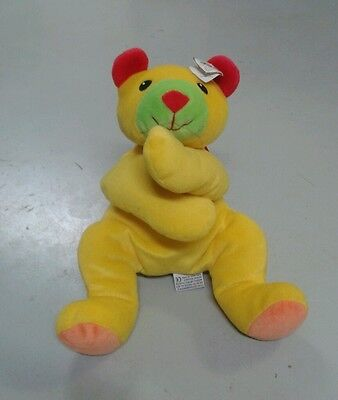 Ty Huggy Pillow Pal Yellow Multi-Colored Plush