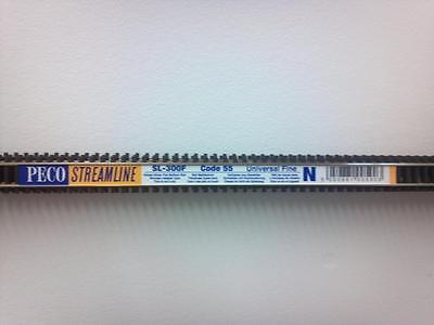 """PECO N SCALE FLEX TRACK Code 55 SL-300F (5 PIECES) - 36"""" Long FREE SHIPPING"""