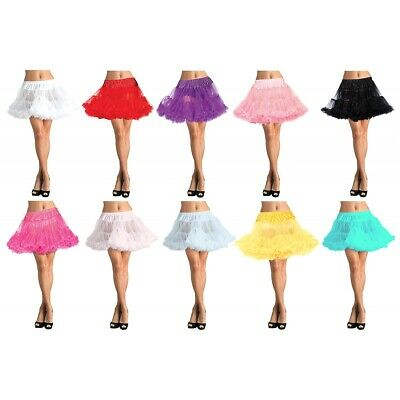 Petticoat Layered Tulle Adult Womens Halloween Costume Accessory Fancy Dress