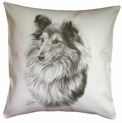 Shetland Sheepdog Sheltie MS Breed of Dog Cotton Cushion Cover - Perfect Gift