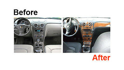 Dash Trim Kit for Porsche Cayenne 03-10 with navigation system Wood Carbon Cover