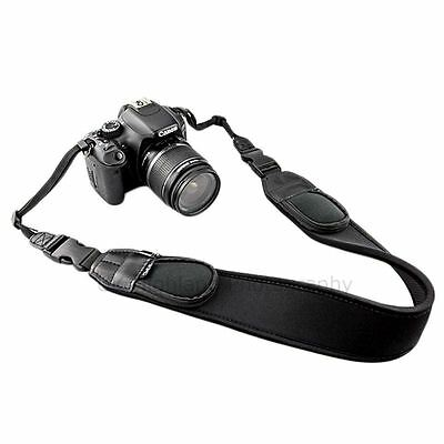 JJC NS-Q2 Neoprene Comfort Neck Strap for DSLR with Quick Release Clip & Pouches