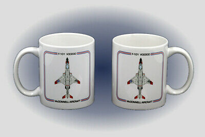 F-101 Voodoo Coffee Mug - Dishwasher and Microwave Safe