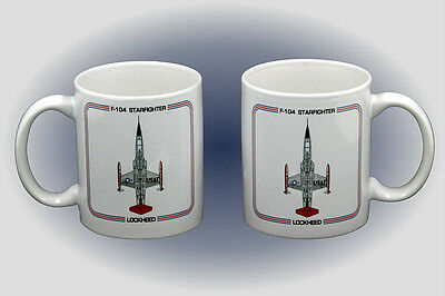 F-104 Starfighter Coffee Mug - Dishwasher and Microwave Safe