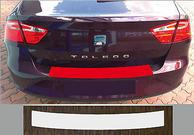 Clear Protective Foil Bumper Transparent Seat Toledo from 2012, Type KG