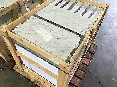 "Carrara White Marble Tiles,  Honed Or Polished, Marble Floor & Wall, 4x4"" SAMPLE"