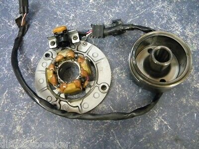 YZF YZ 250 F Stator Plate & Coils with Flywheel (01-02)