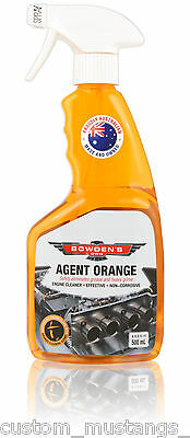 Bowden's Own Agent Orange Engine Cleaner Degreaser Mothers Meguiars Turtle Wax