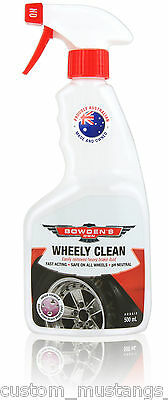 Bowden's Own Wheely Clean Alloy Wheel Cleaner Mothers Meguiars Turtle Wax Billet