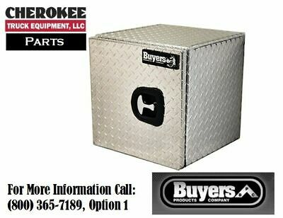 "Buyers Products 1705200, Aluminum Single Door Toolbox, 18"" H x 18"" D x 24"" W"