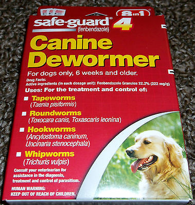 Safe-Guard Canine Dewormer (8 in 1) - New In Box