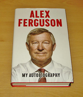 Sir Alex Ferguson Signed Book Autograph First Edition My Autobiography + COA