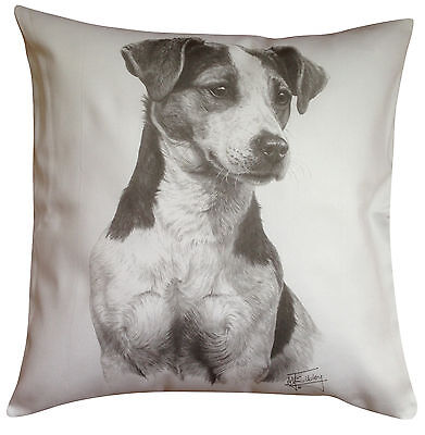 Jack Russell Terrier MS Breed of Dog Themed Cotton Cushion Cover - Perfect Gift