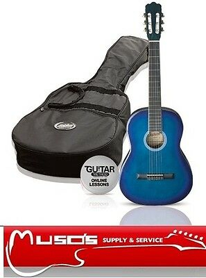 Ashton CG44 Blue Classical Guitar package $99 + postage $10 for Greater Sydney