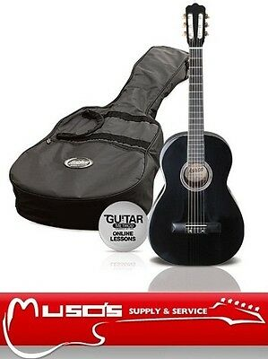 Ashton CG44 Black Classical Guitar package $99 +postage $10 for Greater Sydney