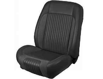 1968 1969 Mustang Coupe Sport R Seat Upholstery F/R Black Blue In Stock