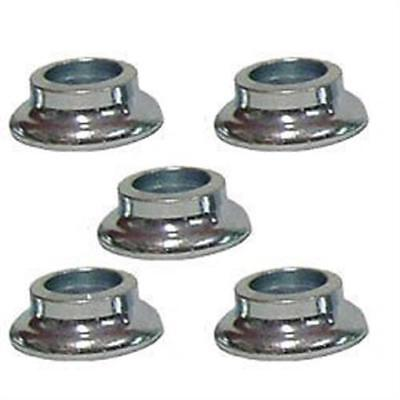 "Tapered Rod End Reducers / Spacers 3/4"" ID x 1/2"" IMCA Heims Misalignment 5 Pack"