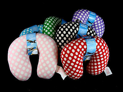 Micro Beads Travel Neck Pillow Cushion Support Head Rest U shape NEW assorted