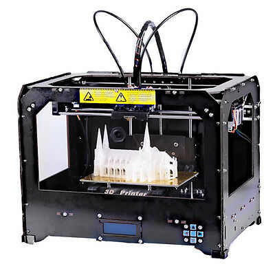 CTC 3D Printer Makerbot Replicator 2 - 2 Extruders + 1KG (ABS or PLA) filament