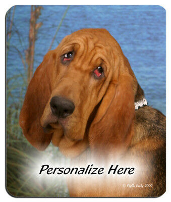 Bloodhound  Personalized  Mouse Pad
